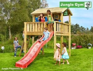 "Игровой дом Jungle Gym ""Jungle Playhouse XL"" (Джангл Джим Плэйхаус ИксЭль)"