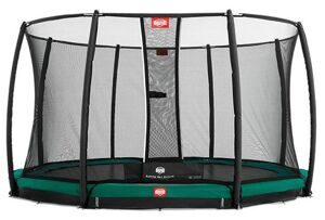 Батут Berg InGround Favorit + Safety Net Deluxe 380