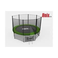 Батут Unix 6 ft outside  Green
