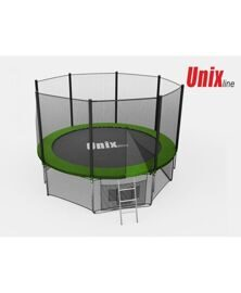Батут Unix 8 ft outside  Green