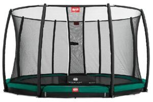 Батут Berg InGround Favorit + Safety Net Deluxe 430